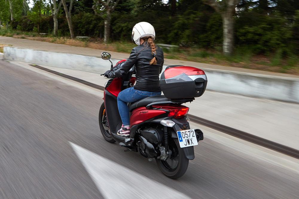 Las motos en las grandes ciudades serán sustituidas por prácticos scooter