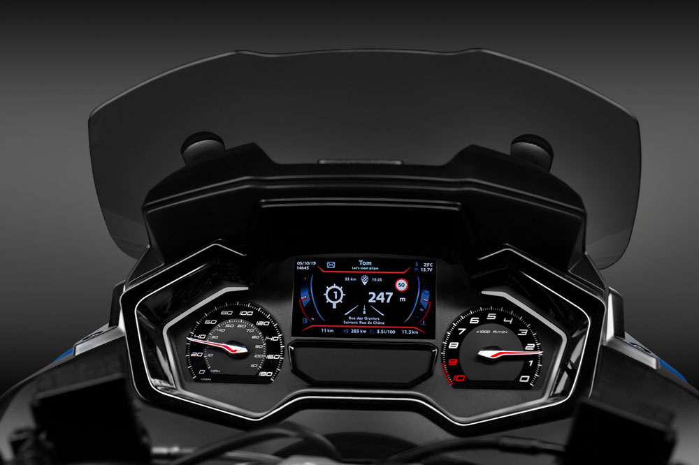 Cuadro de instrumentos del Peugeot Metropolis RS Concept