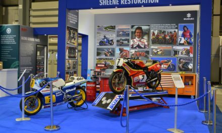 Así se restauraron las Suzuki de Barry Sheene