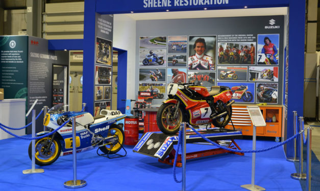 Así se restauraron las Suzuki de Barry Sheene