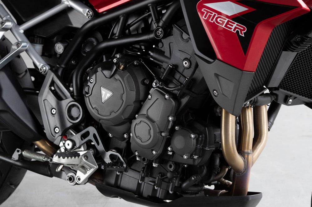 Nuevo motor de la Triumph Tiger 900