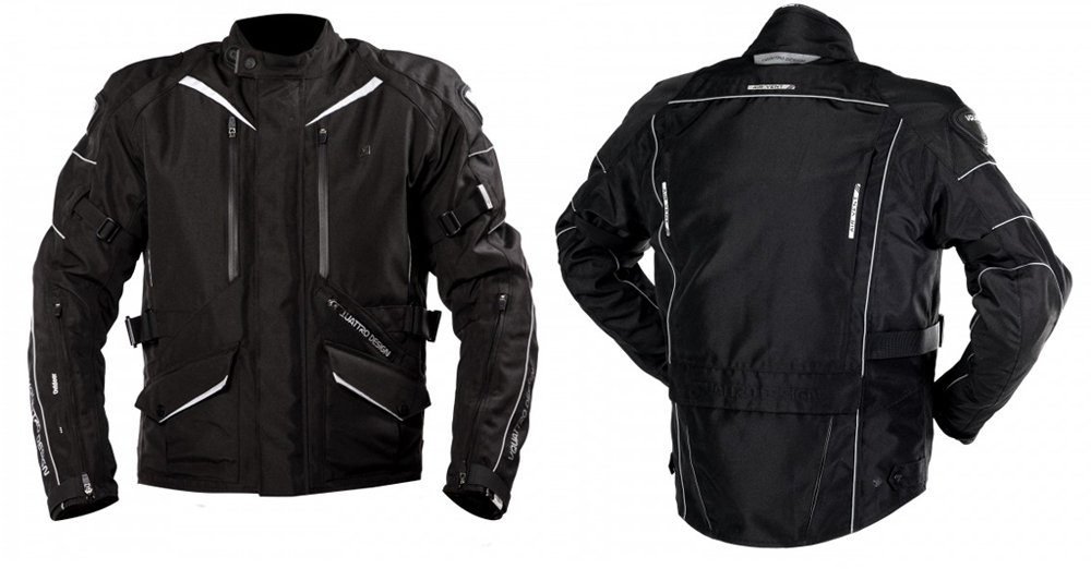 Chaqueta moto Hurry de Vquattro black