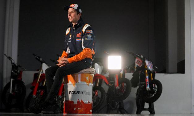 Alex Márquez viste oficialmente los colores Repsol Honda MotoGP