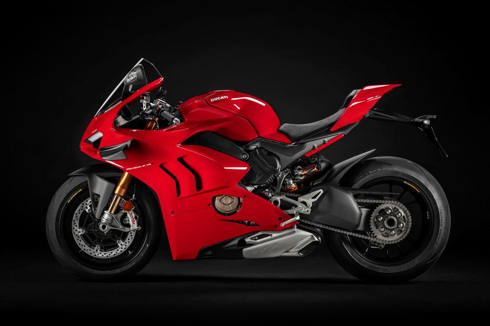 La Ducati Panigale V4 cuenta con una unidad de medición inercial que permite contar con los últimos avances en electrónica