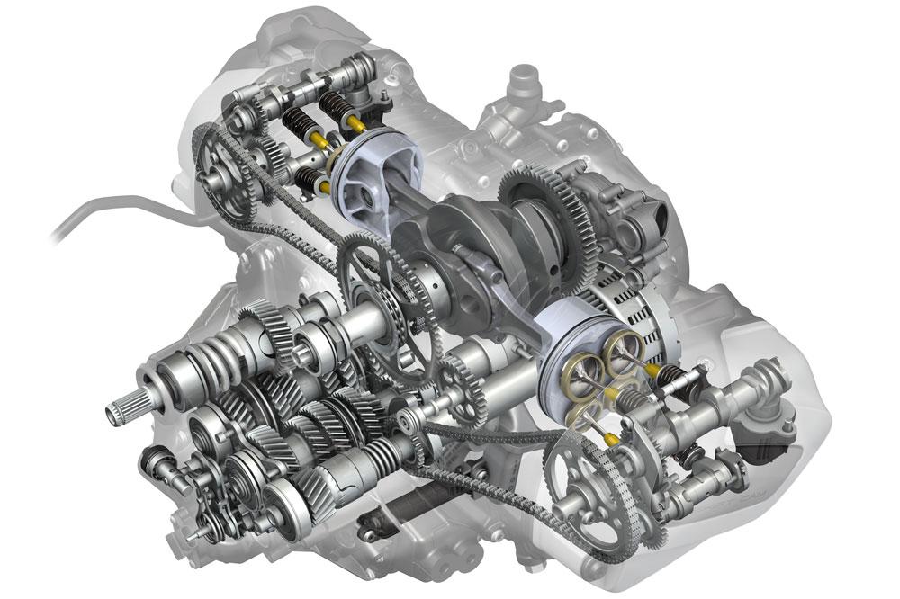 Los sistemas de distribución variable son una buena forma de controlar las emisiones de la moto