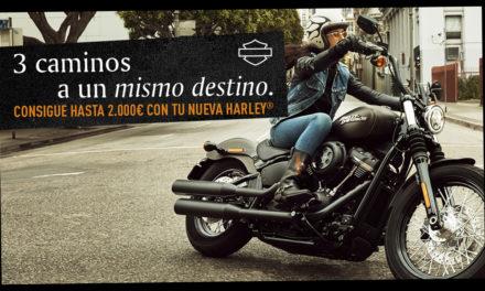 Promoción 3 caminos a un mismo destino de Harley Davidson
