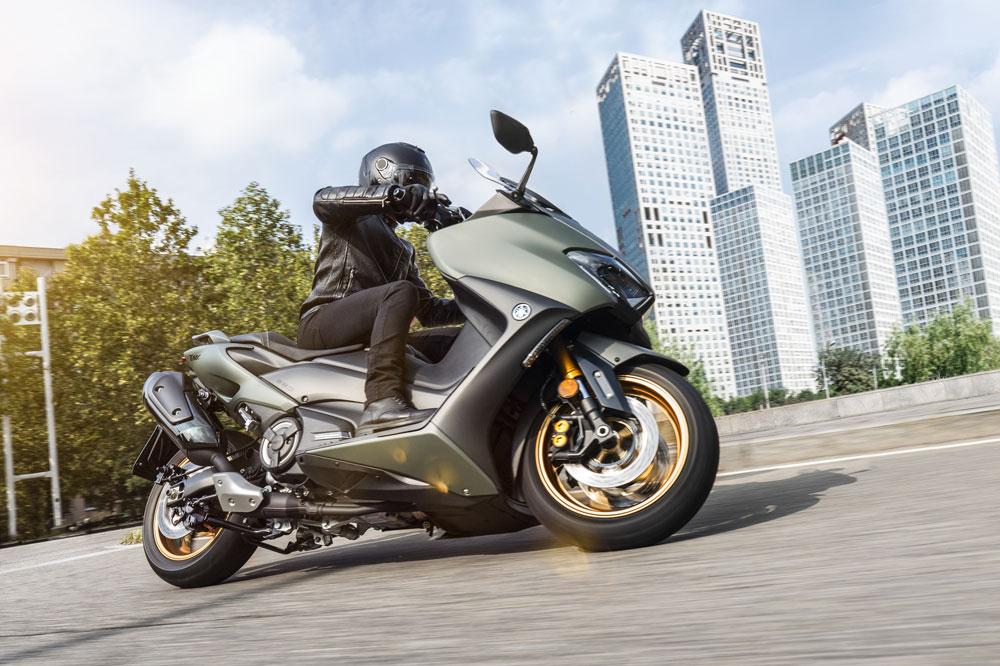 El Yamaha T Max ha tenido que subir su cilindrada y mejorado su sistema de refrigeración para superar la Euro 5