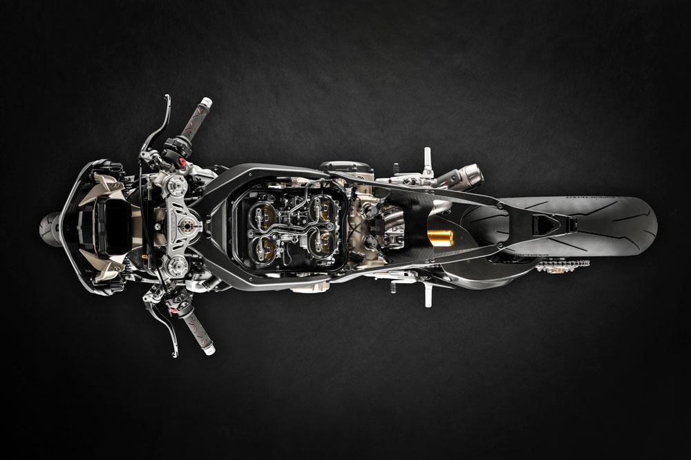 La Ducati Superleggera tiene una increíble relación entre peso y potencia