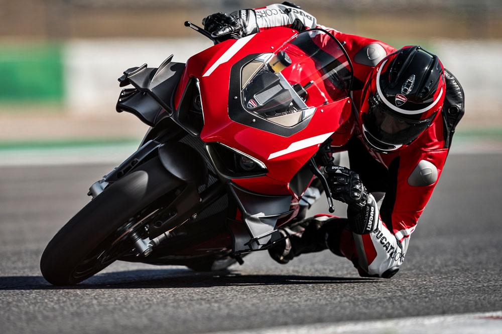 Los alerones están inspirados en los de la Ducati MotoGP 2016