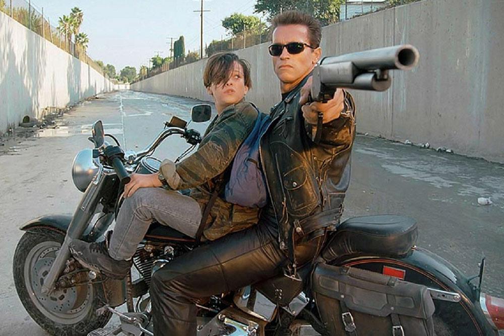 La Harley Davidson Fat Boy fue la moto de Terminator 2