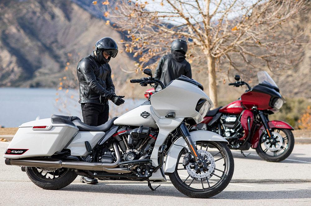 Las Harley Davidson CVO tienen algunos de los accesorios más exclusivos del fabricante norteamericano