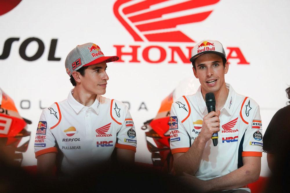 Alex Márquez se estrena esta temporada en MotoGP, junto a su hermano y por todo lo alto