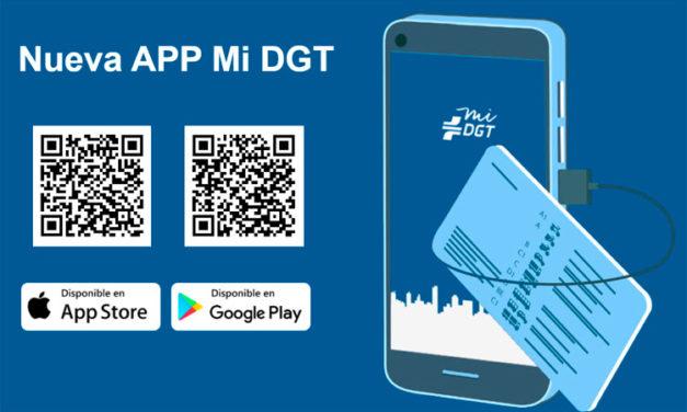 Lleva tu carnet de conducir en el móvil con la APP miDGT