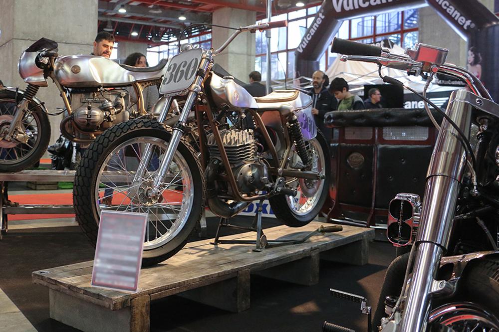 Exposiciones y concurso de transformaciones de motos en Motorama Madrid 2020
