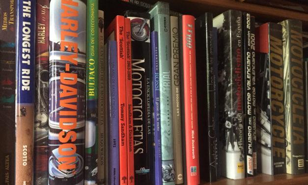 40 libros sobre motos y motoristas