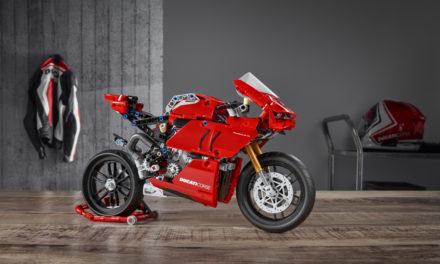 Ducati Panigale V4 R de LEGO