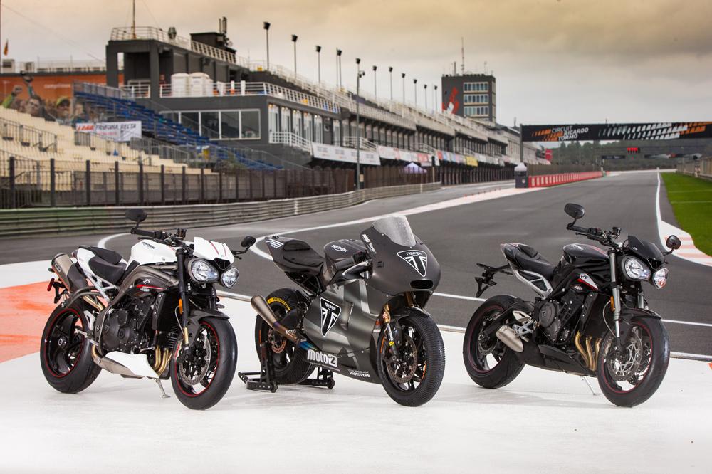 En 2019 Triumph desembarcó en el Mundial de Moto2