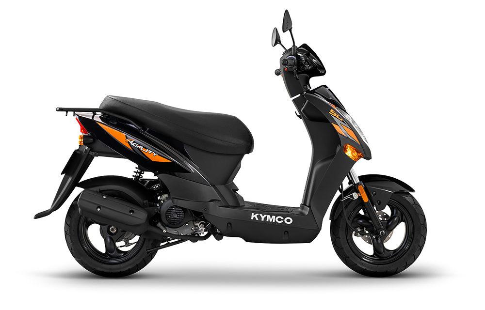 KYMCO Agility 50: El pequeño ciclomotor urbano