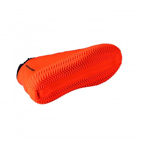 Cubre botas Footerine Tucano Urbano en color naranja