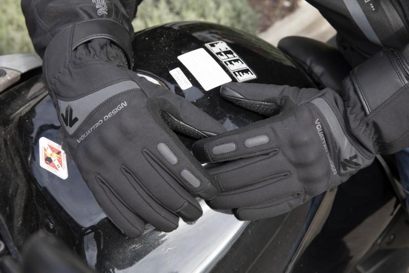 Guantes de moto Stelvio de Vquattro