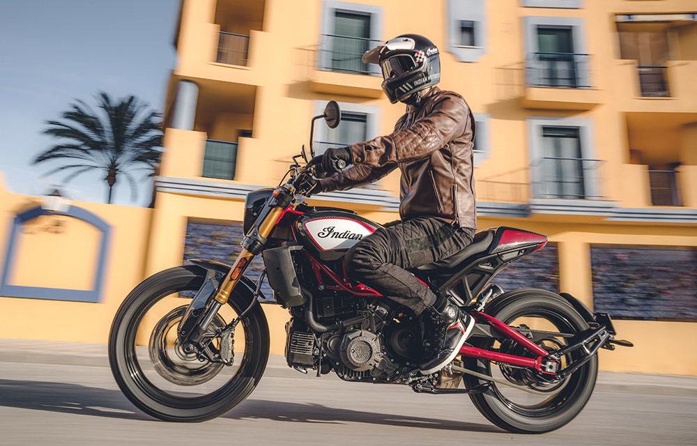 Gana una Indian FTR 1200 si reservas una prueba de conducción
