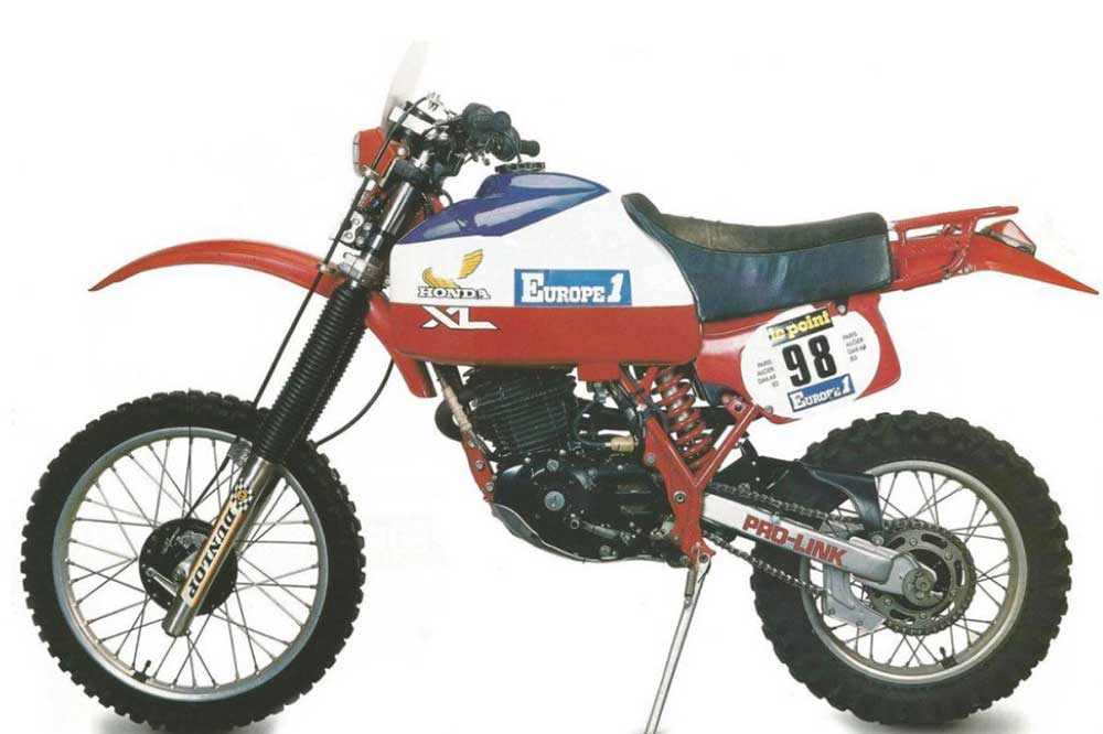 Honda XLS 500 de 1982