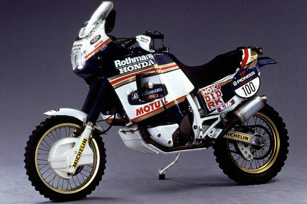 Con la Honda NXR 750 comenzó una historia llena de éxitos