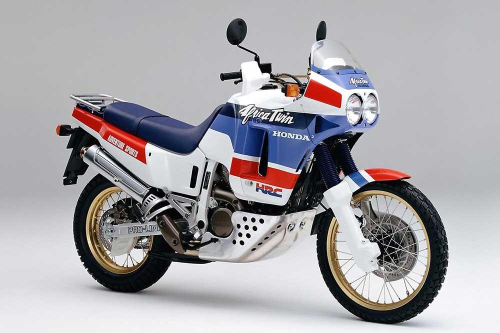La primera Honda Africa Twin de 1989, todavía con motor de 650 cc