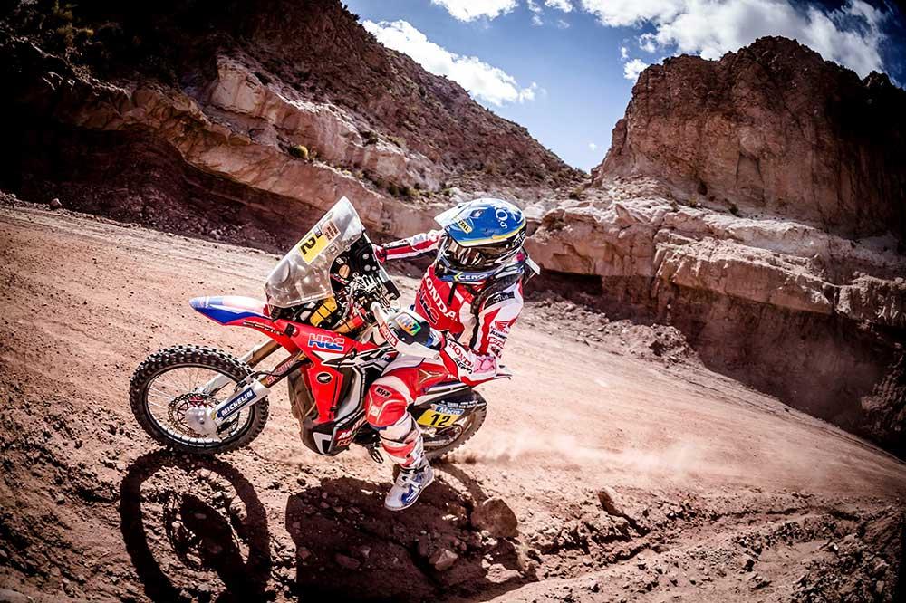 El desarrollo de la electrónica ha supuesto un gran avance de las motos de aventura de Honda