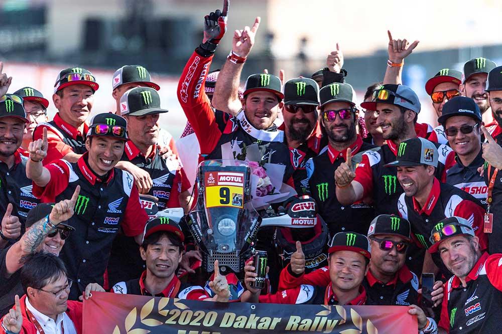 Por fin en 2020 Honda logró recuperar el trono del Rally Dakar con el norteamericano Ricky Bravec a los mandos