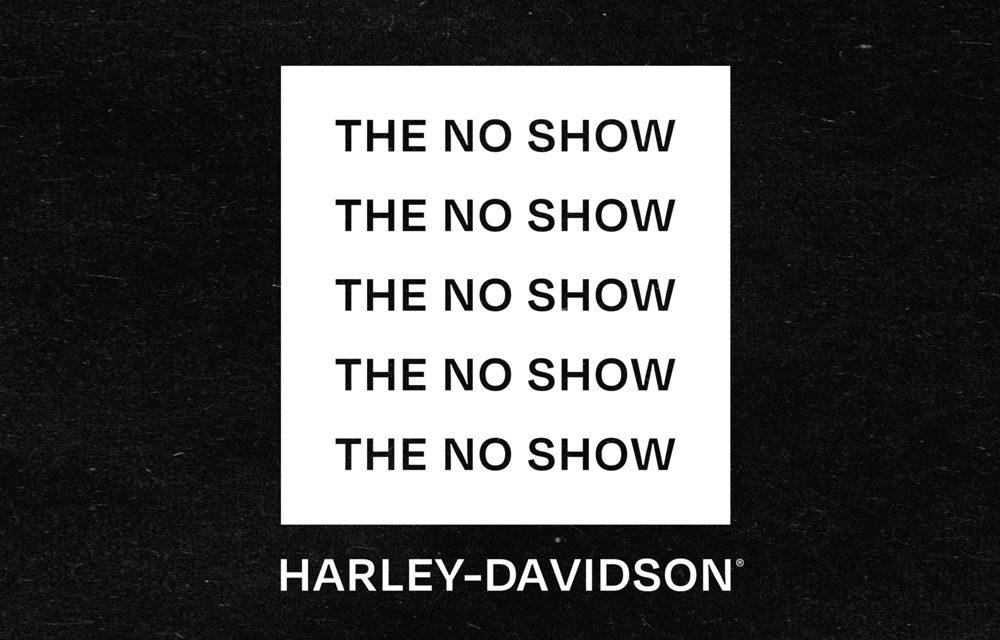 The No Show Harley-Davidson, un evento que reúne música y motos