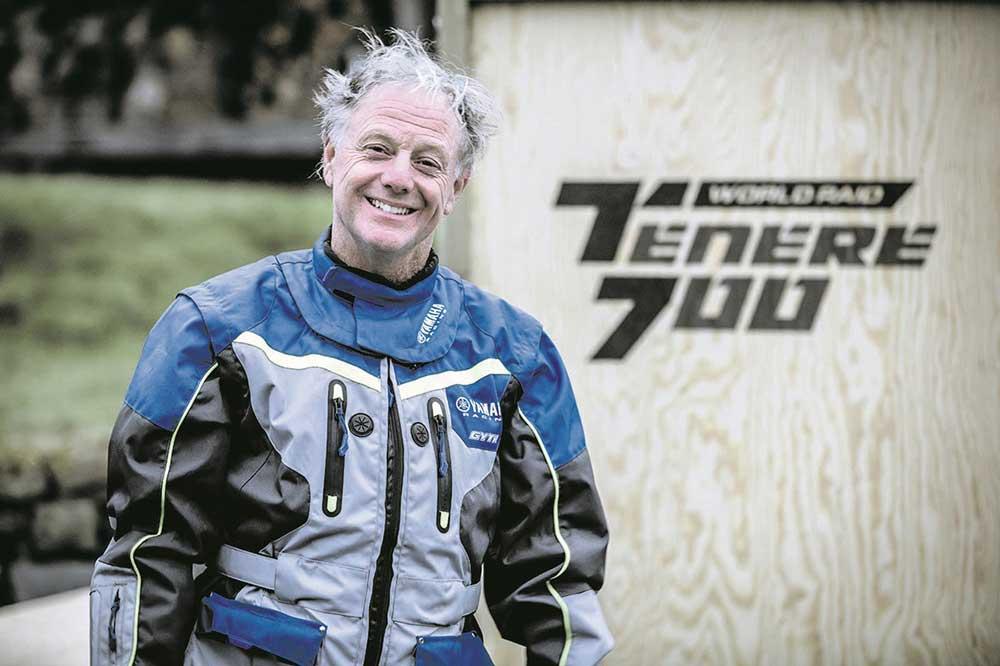 Nick Sanders se ha convertido en uno de los embajadores de la Yamaha Tenere 700