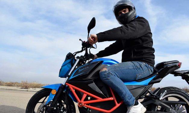 Ebroh Bravo GLE, una moto eléctrica para el carnet de coche