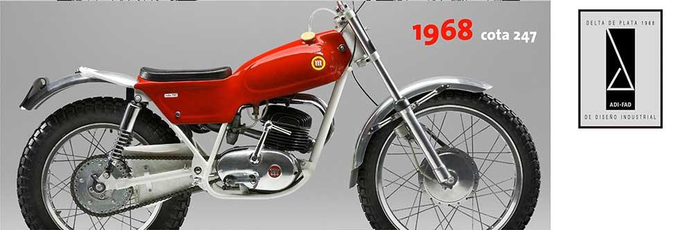 Montesa Cota 247, Premio Delta el Diseño Industrial en 1968