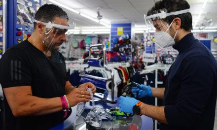 Pantalla facial protectora V4 de NZI