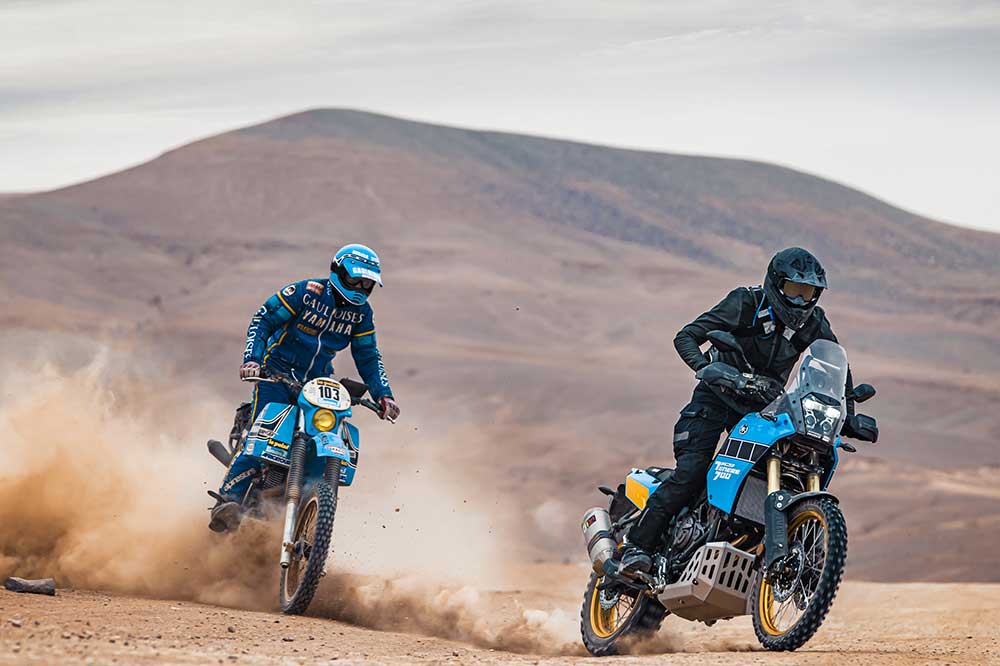 La Yamaha Tenere 700 Rally Edition hereda el espíritu de las motos de los primeros Dakares