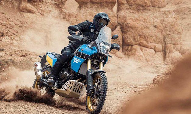 Yamaha Tenere 700 Rally Edition, inspirada en el Dakar