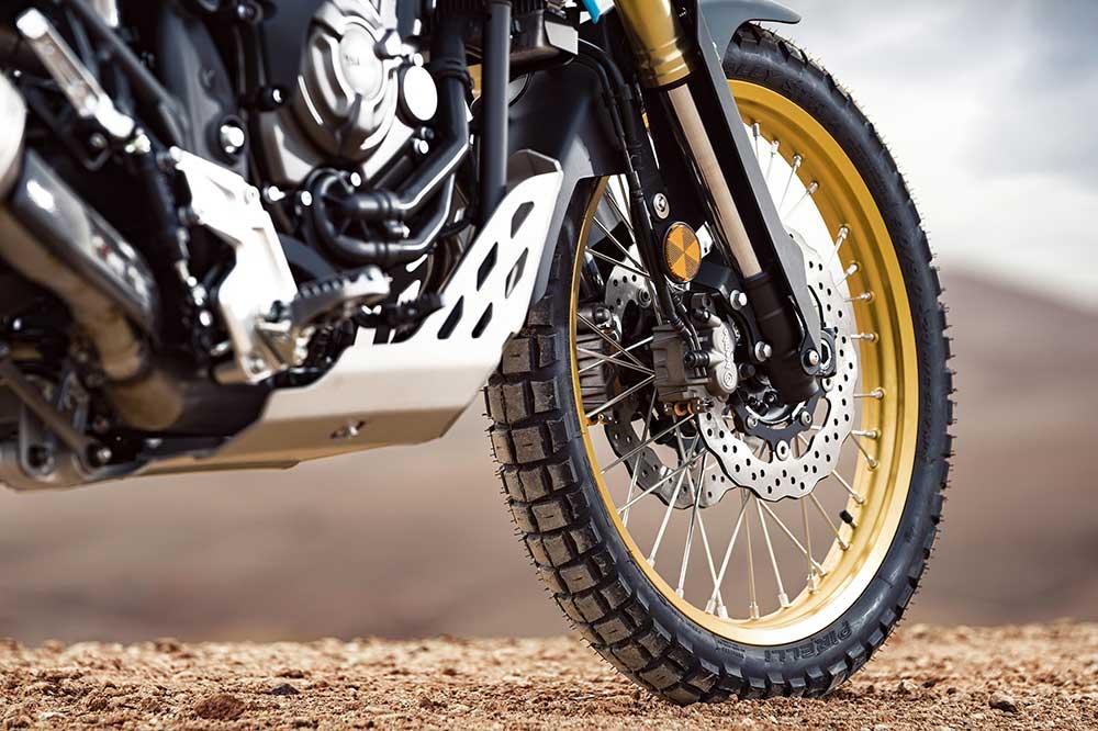 Freno y horquilla delantera de la Protector del motor de la Yamaha Tenere Rally Edition