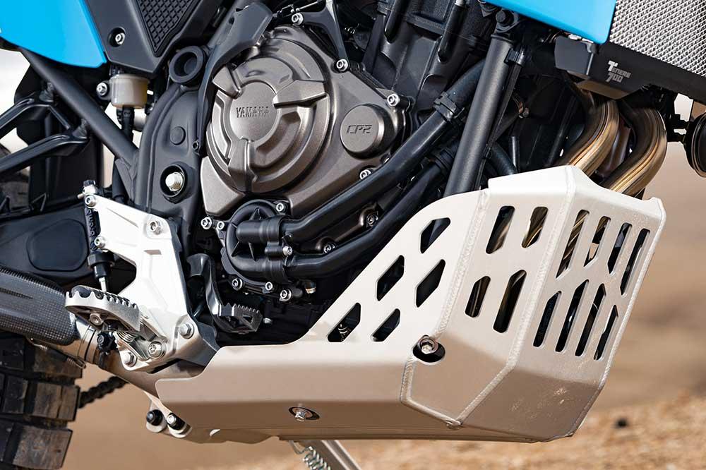 Protector del motor de la Yamaha Tenere Rally Edition