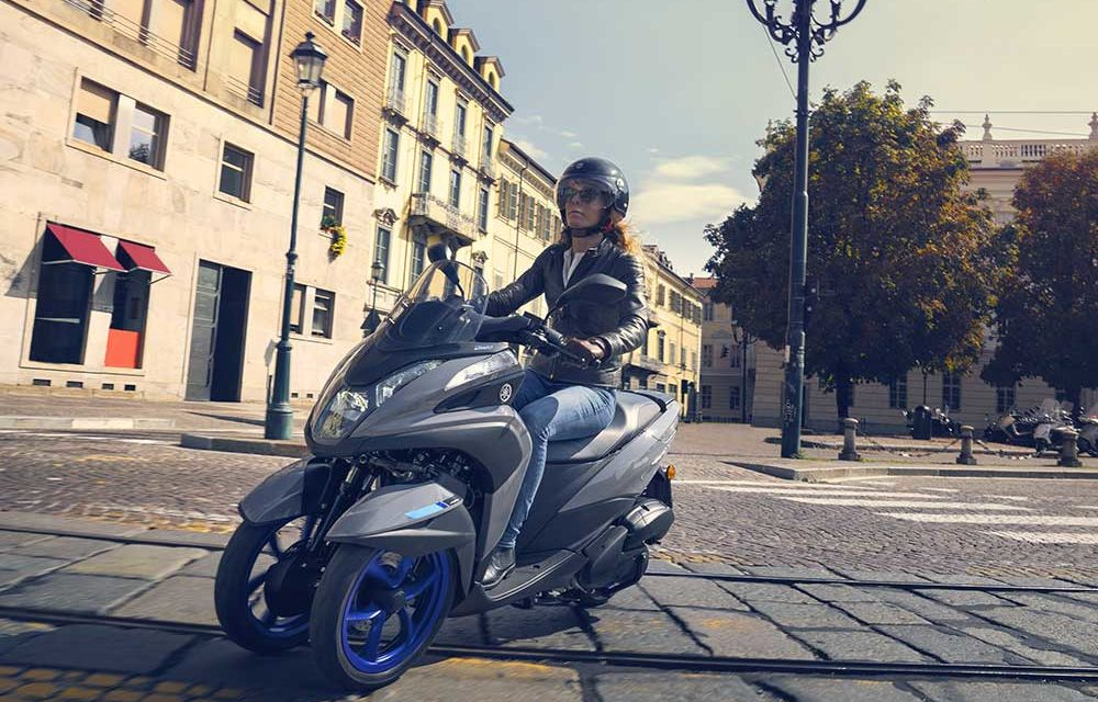 El precio del Yamaha Tricity 300 será de 7.999 euros