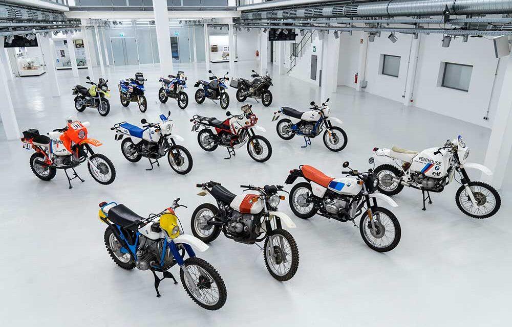 40 aniversario de la BMW GS: Una moto trail con mucha historia