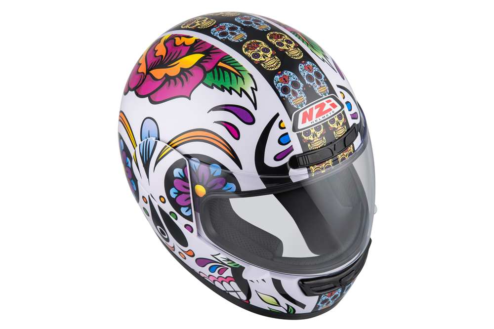 Casco integral Activy 3 Scull Nzi