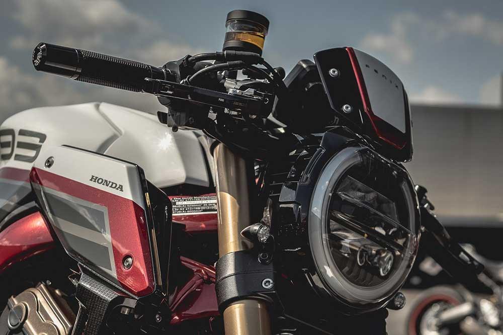 Las motos del Honda Garage Dreams Contest fueron expuestas en el Revival Cafe de Madrid