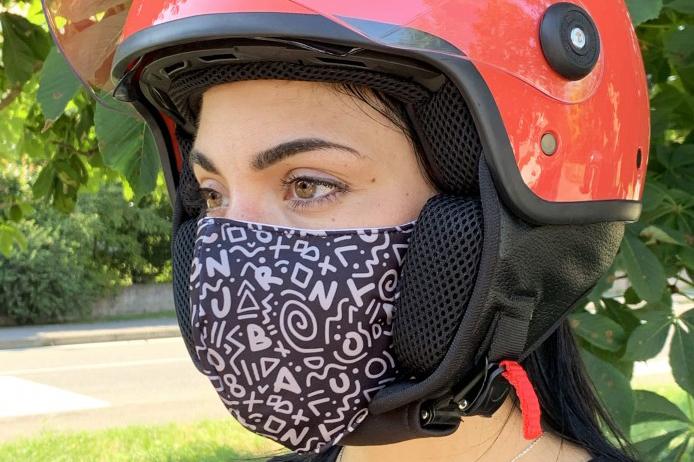 Mascarilla Rina, protegido y a la moda con Tucano Urbano