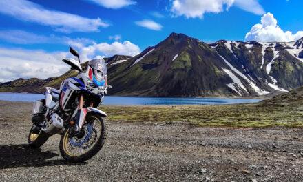 Tercer Adventure Roads Tour, hacia Islandia con la Africa Twin
