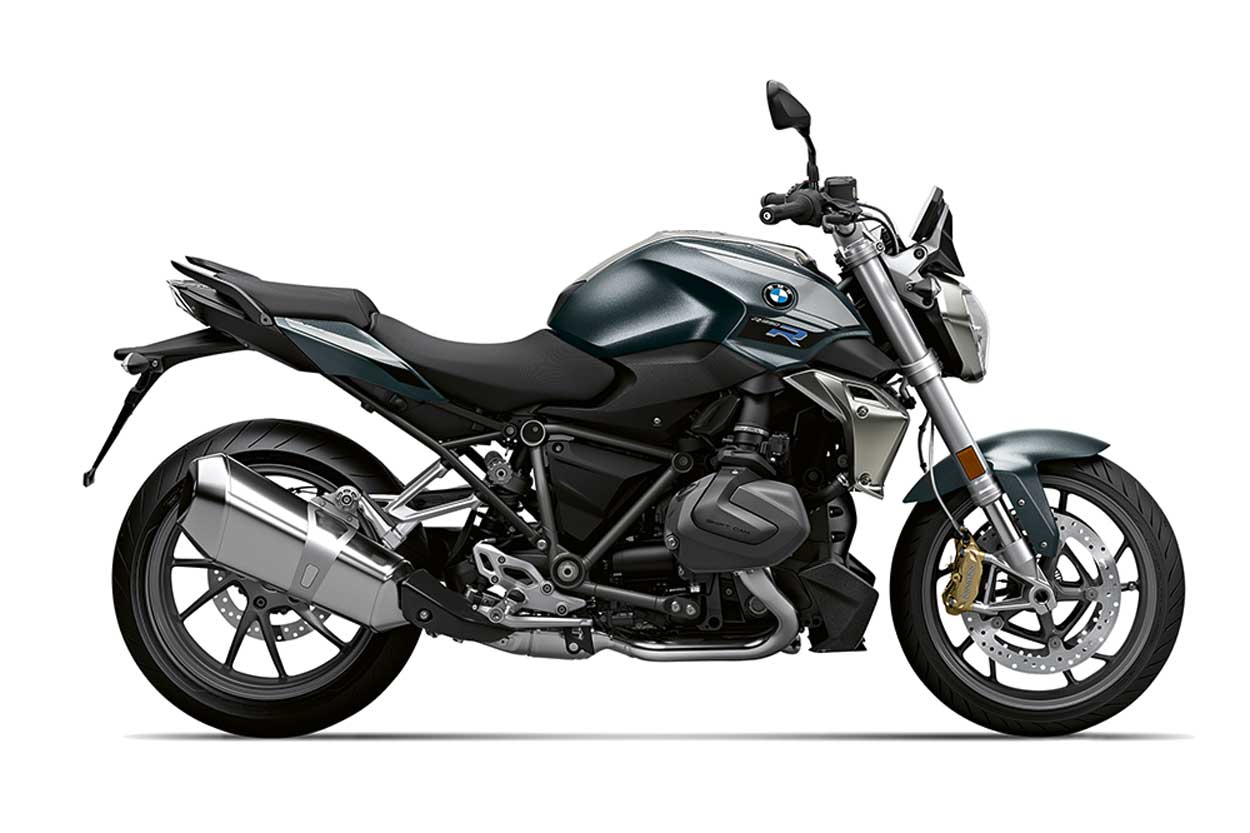 BMW R 1250 R en color Mineral Grey Metallic