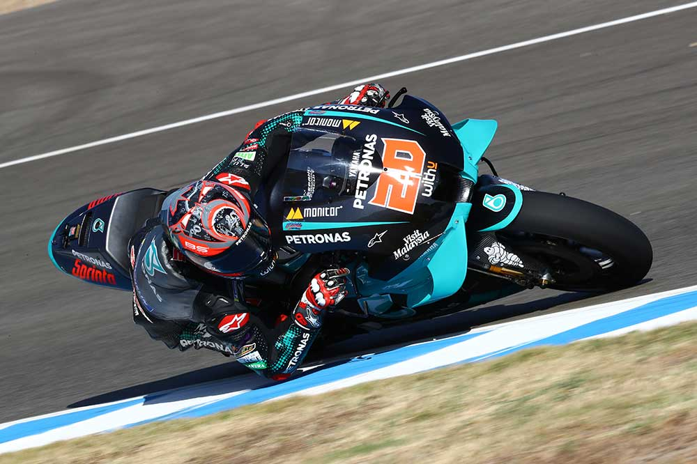 Fabio Quartararo, victoria en el GP de Andalucía de MotoGP