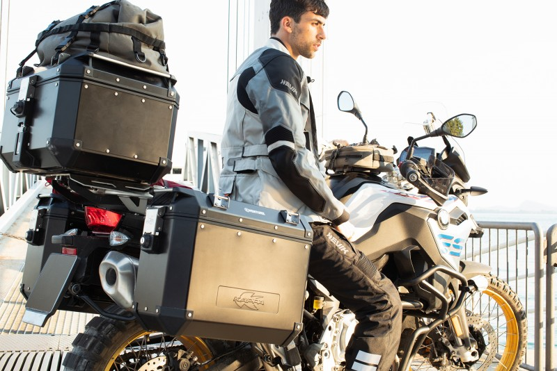 Equipamiento Kappa moto usada