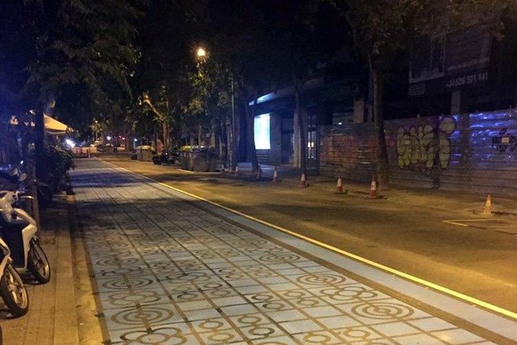 Pintura deslizante en Barcelona