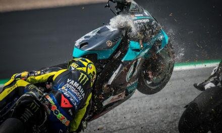 Una de las carreras más peligrosas de la era MotoGP
